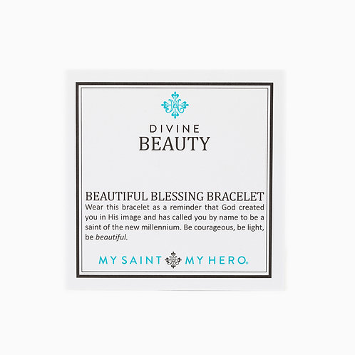 Divine Beauty Blessing Bracelet