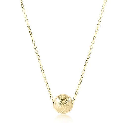 "16""Necklace Gold - Honesty Gold"