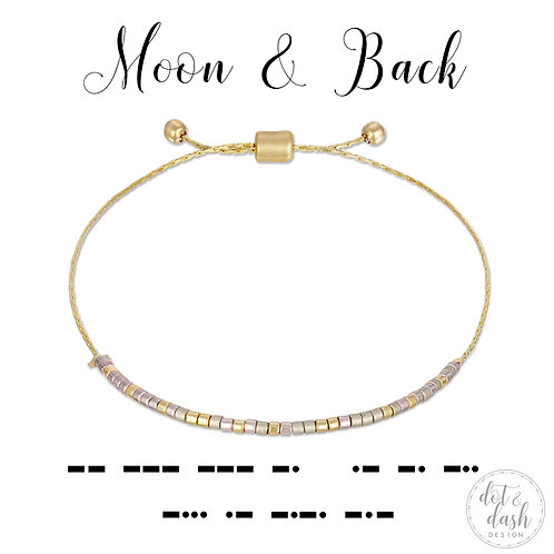 Moon and Back (Bracelet)