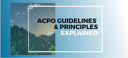 ACPO Guidelines & Principles Explained