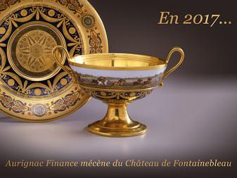 Aurignac Finance mécène du Château de Fontainebleau