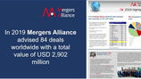 Mergers Alliance overview of 2019 and perspectives for 2020