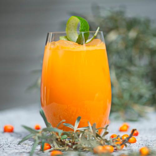 Havtorn og Tonic drink