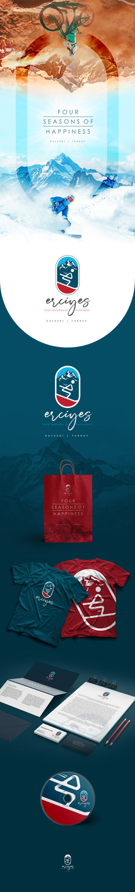 Erciyes Kayak Merkezi Logo Modernizasyonu Sunumu