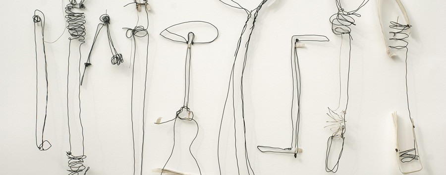 Wire drawing of Dads tools.