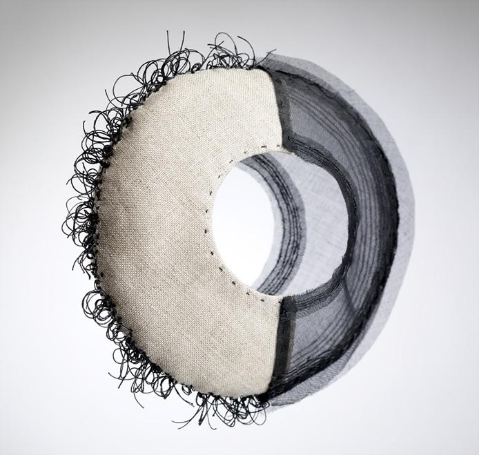 Craftscotland logo in textile