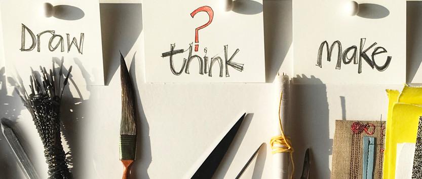 Draw think make