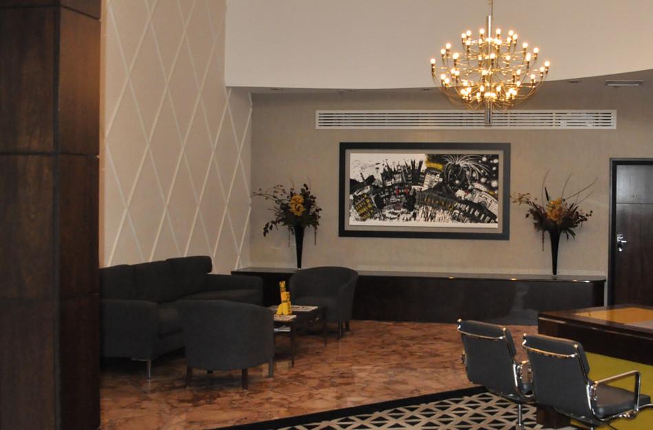 The Glasshouse foyer