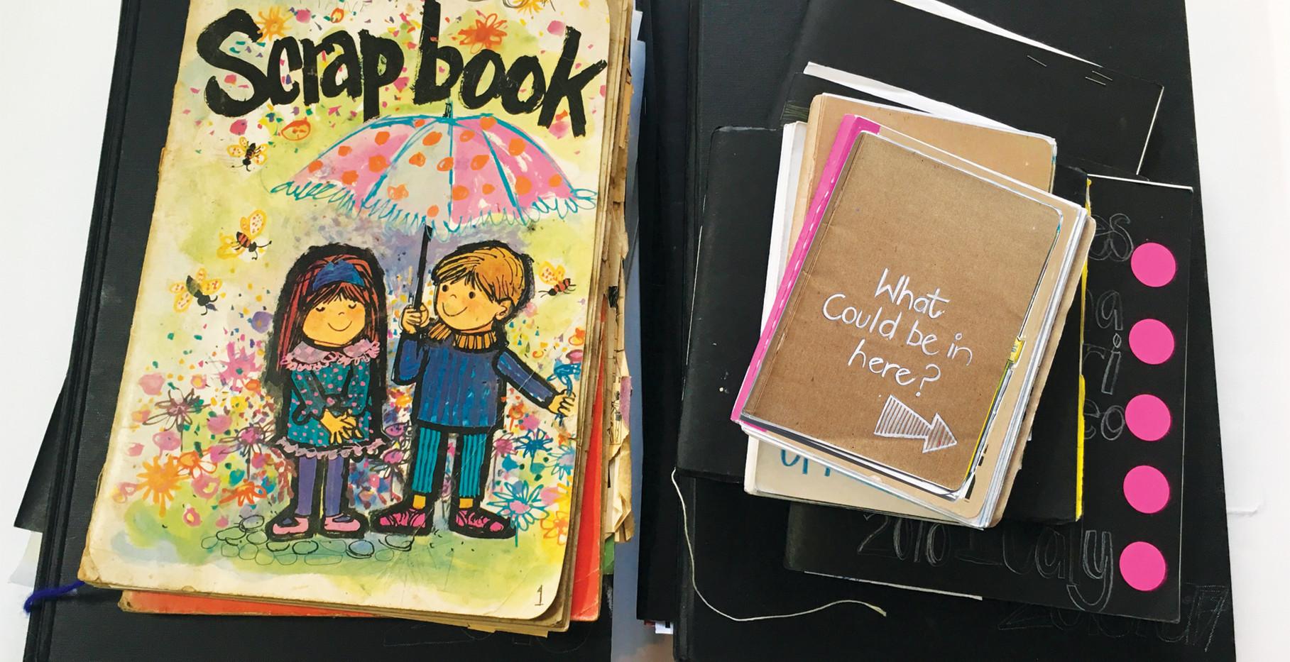 My first 'Sketchbook'