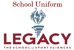 Legacy Uniform (fill out separate order for each student)