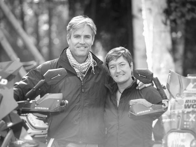 Lisa and Simon Thomas