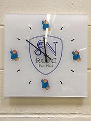 Rugby club Acrylic clock.jpeg