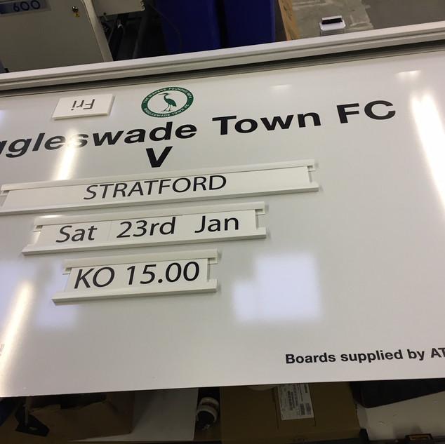 Sports club fixture board 1.JPG