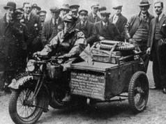 Stanley Glanfield's Rudge Sidecar