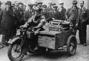 Stanley Glanfield's Rudge Sidecar