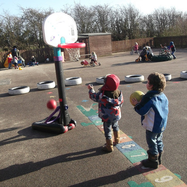 Basket Ball - Throwing and catching skills