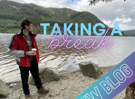 Taking A Break 🥾