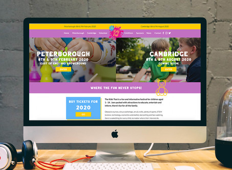 A website that was a delight to create! Welcome to The Kids' Fest.