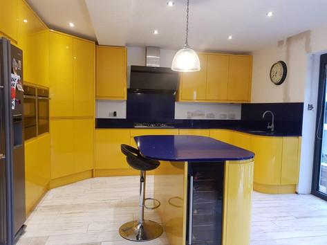 Airo Gloss Bespoke Yellow