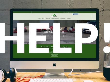 """""""Help! Can you fix my broken website?"""" 😓"""