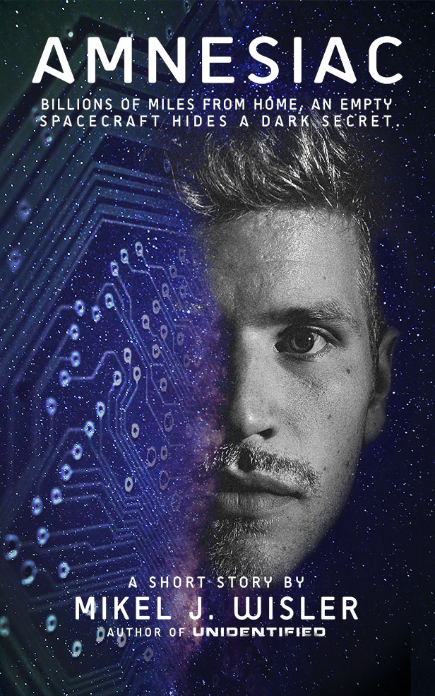 Amnesiac Kindle Cover