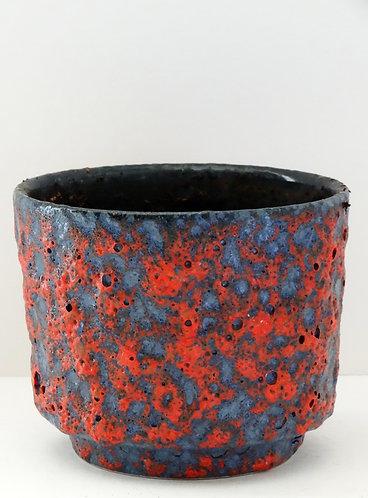 ES Keramik Blue Red Lava