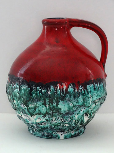 Marei Red & Green Lava