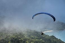Atterrissage en parachute