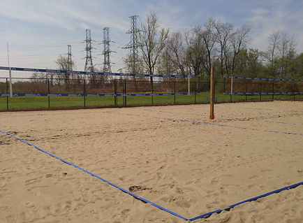 hamilton beach volleyball court
