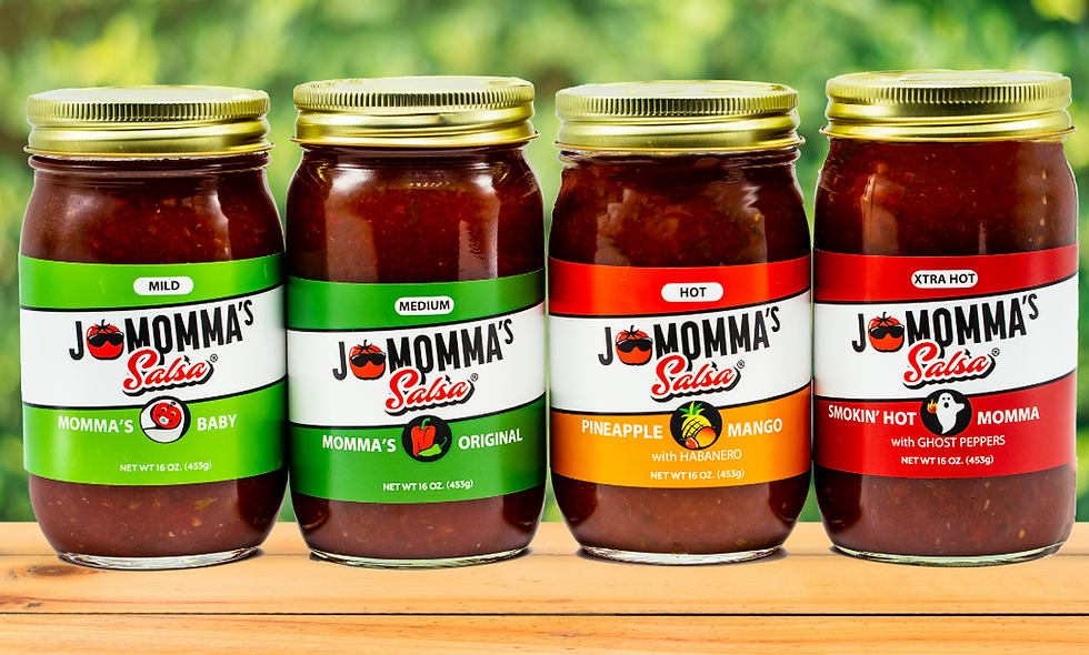 JoMomma's Salsa - Variety Pack (Available in 4 or 12 Pack)
