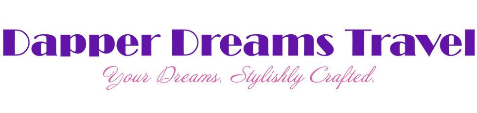 Dapper Dream Travel - Wordmark Logo