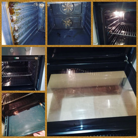 Oven deep clean