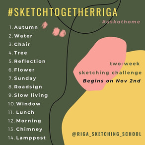 Sketching Challenge - November 2020