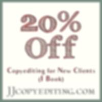 20% Off at JJcopyediting.com