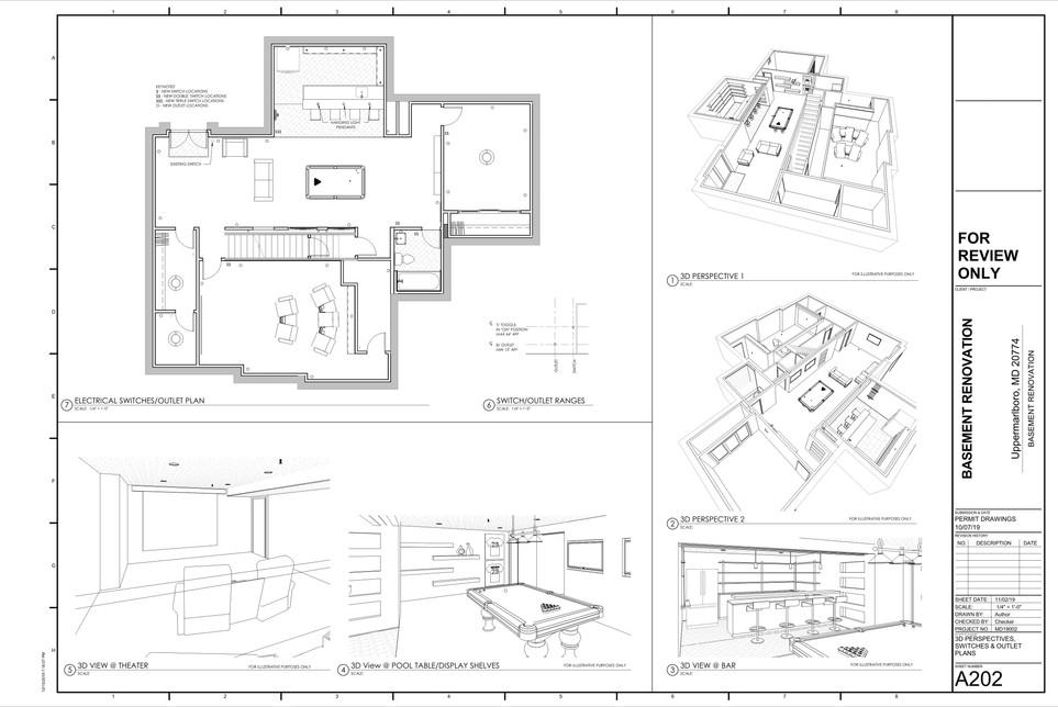 Basement Renovation Project - House 1, Uppermarlboro, MD