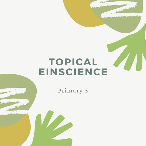 5-Day Topical Einscience 11am - 1pm