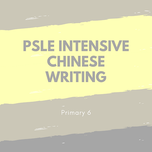 5-Day PSLE Intensive Chinese Writing