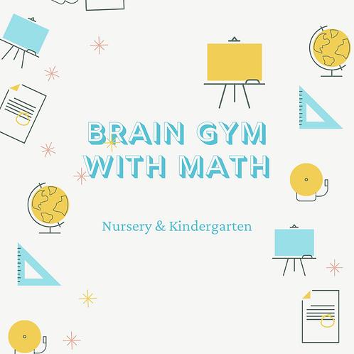 5-Day Brain Gym with Math 11.15am - 12.45pm