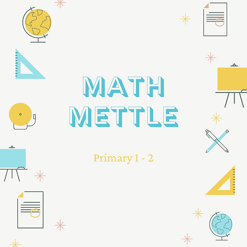 3-Day Math Mettle 11am - 1pm