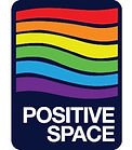 Logo and badge for Positive Space in the LGBTQ+ community