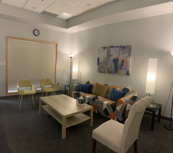 One of our safe spaces where we counsel you