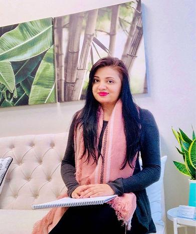 Profile photo of psychotherapist Faiza Haroon