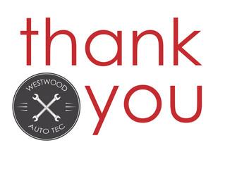 THANK YOU!  (Winnipeg Auto Repair)