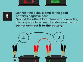 Using Jumper Cables (Winnipeg Auto Repair)