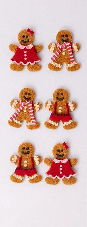 Little B - Holiday Gingerbread Men