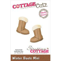CottageCutz Winter Boots Mini