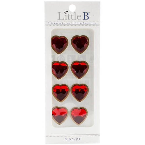 Little B -Rhinestone Hearts