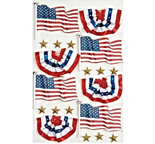 Little B - USA Flags