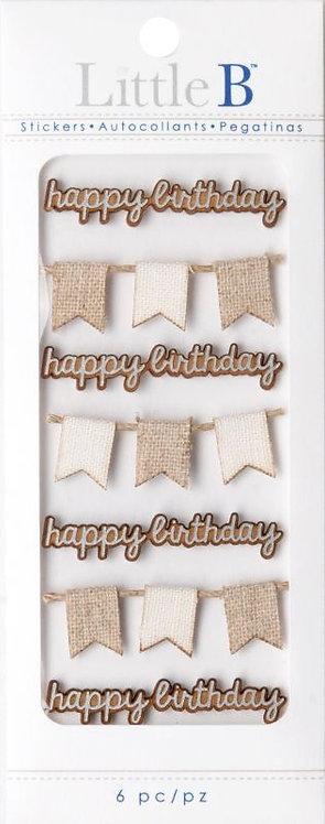 Happy Birthday Mini Stickers