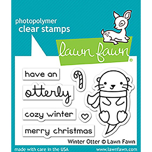 Winter Otter Die & Stamp Set